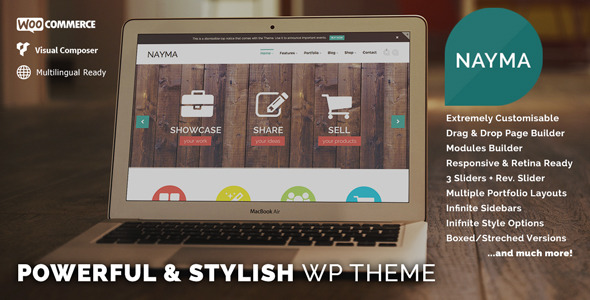 Nayma - Responsive Multi-Purpose WordPress Theme
