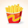 Fast Food Icon. French Fries Potato Bucket. - PhotoDune Item for Sale