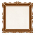 Vintage Picture Frame Isolated on White Background - PhotoDune Item for Sale