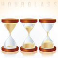Hourglass. Three Different States. - PhotoDune Item for Sale