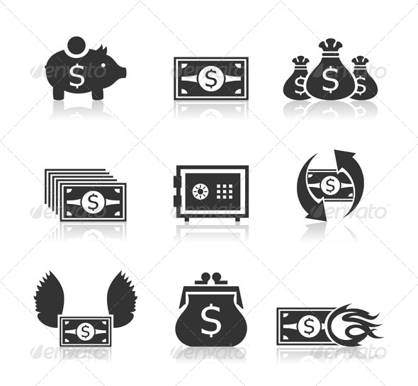 GraphicRiver Money Icons 3 6534586