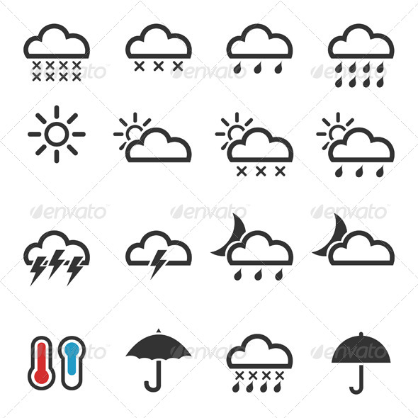 GraphicRiver Weather Icons 4 6534837