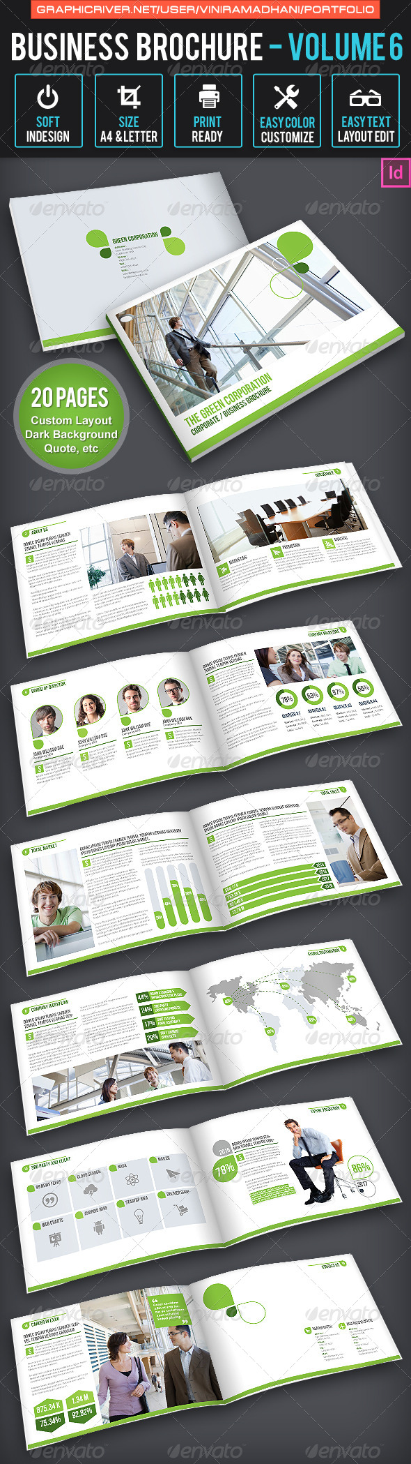 GraphicRiver Business Brochure Volume 6 6534846