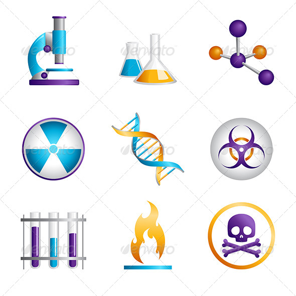 GraphicRiver Science Icons 6535019