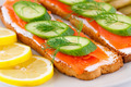 Salmon sandwiches - PhotoDune Item for Sale