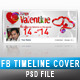 Valentine Facebook Timeline 07 - GraphicRiver Item for Sale