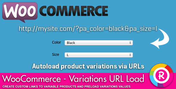 WooCommerce - Variations URL load - CodeCanyon Item for Sale