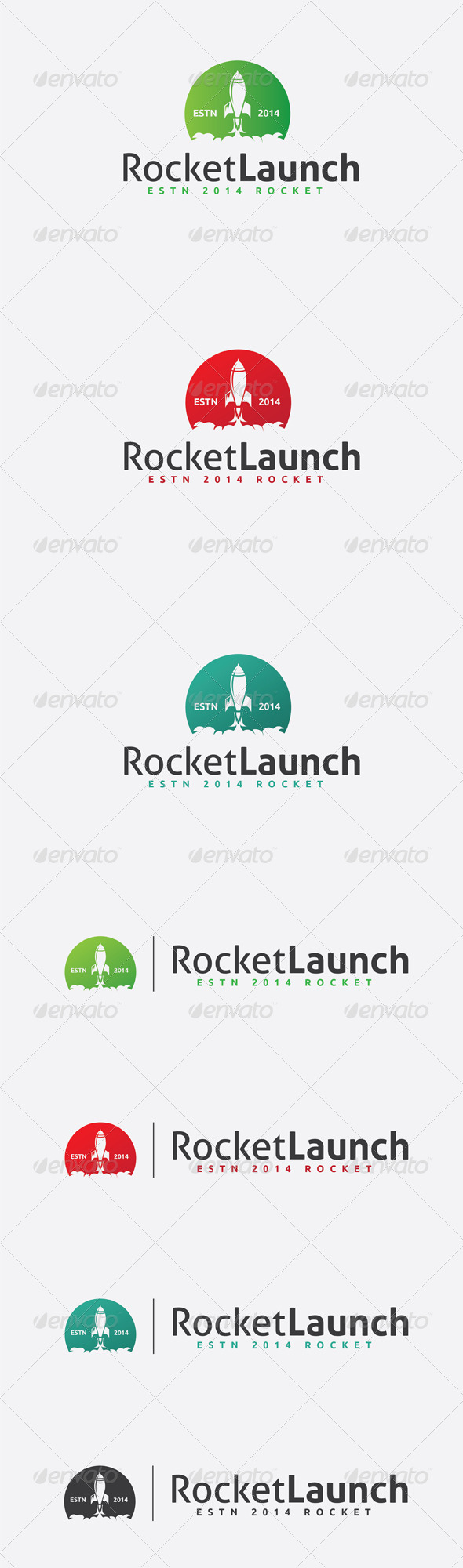 GraphicRiver Rocket Logo 6511254