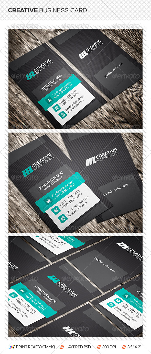 GraphicRiver Creative Business Card 6535945