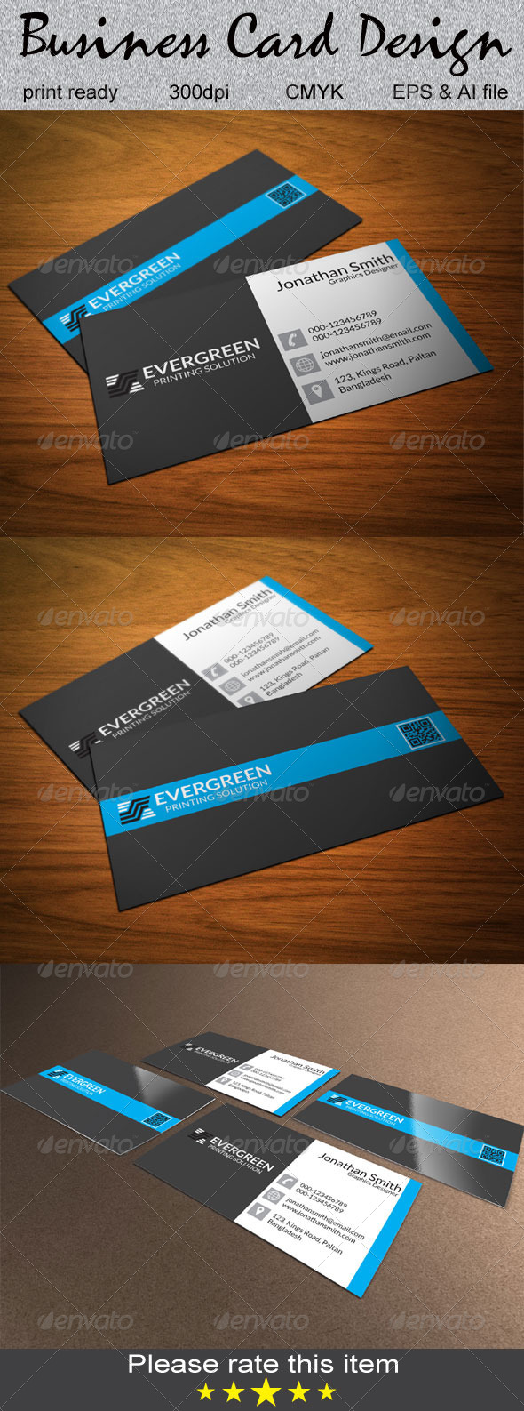 GraphicRiver Corporate Business Card 6536688