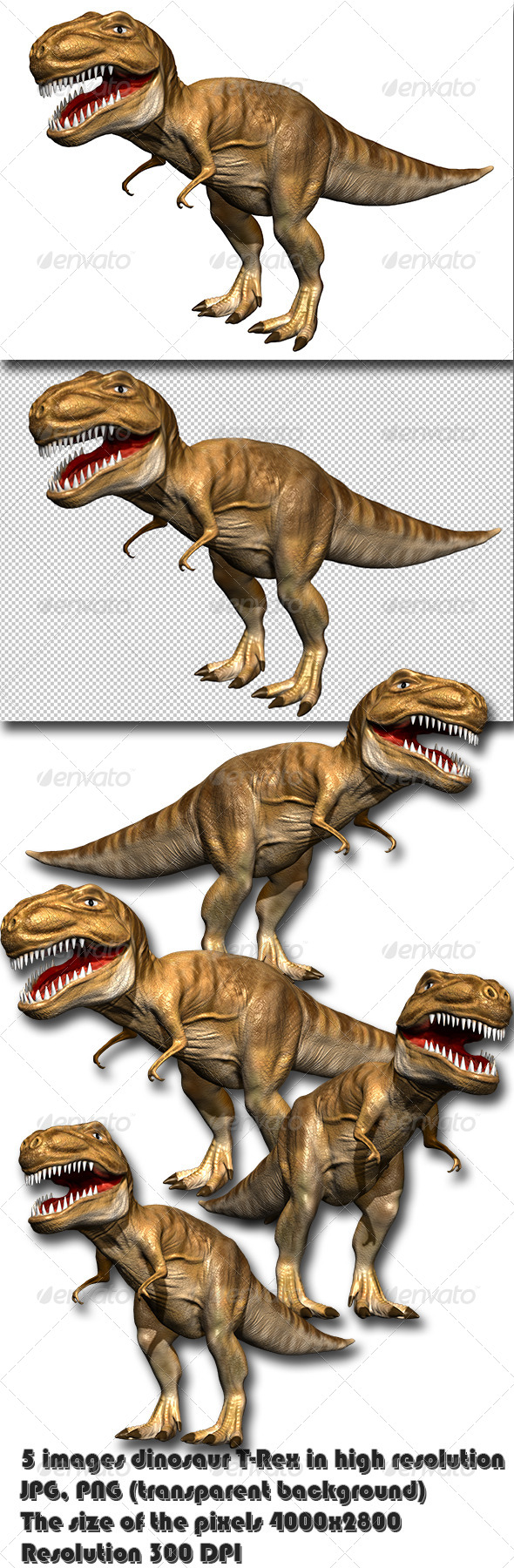 GraphicRiver Dinosaur T-Rex 6536977
