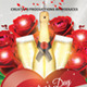 Girls 'n' Roses Valentine's Day Flyer Template 2 - GraphicRiver Item for Sale