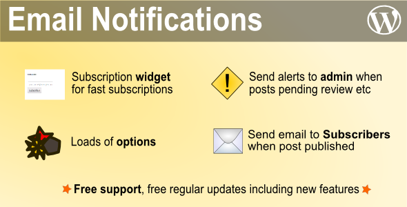 New or Updated Post Notifications - CodeCanyon Item for Sale