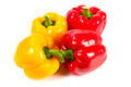 Red and yellow bell pepper - PhotoDune Item for Sale