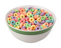 Multicolored Fruit Cereal isolated - PhotoDune Item for Sale