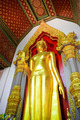 Golden buddha stands in the temple Phra Nakhon Chedi at Nakhon P - PhotoDune Item for Sale