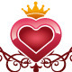 Heart Queen Logo - GraphicRiver Item for Sale