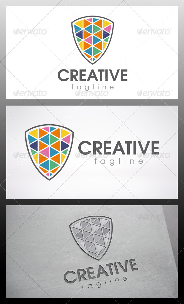 GraphicRiver Creative Shield Logo 6538018
