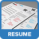 Clean Business Resume - GraphicRiver Item for Sale