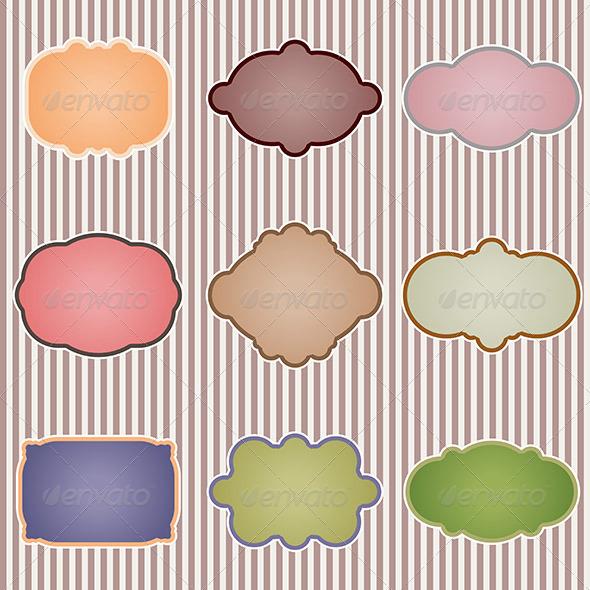 GraphicRiver Vintage Label Backgrounds 6541889