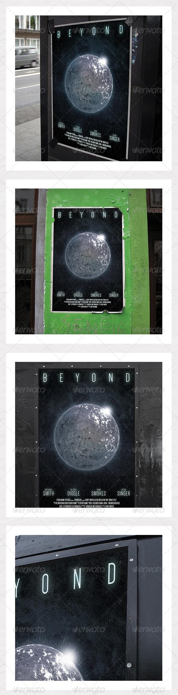 GraphicRiver Sci Fi Film Poster 6542312