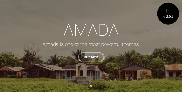 Amada - Flat and Fresh WordPress Theme - Creative WordPress