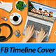 Desktop Facebook Timeline Cover - GraphicRiver Item for Sale
