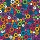 Colorful Seamless Pattern with Circles - GraphicRiver Item for Sale
