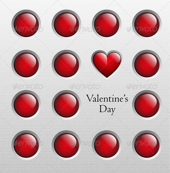 GraphicRiver Valentine s Day Background 6543324