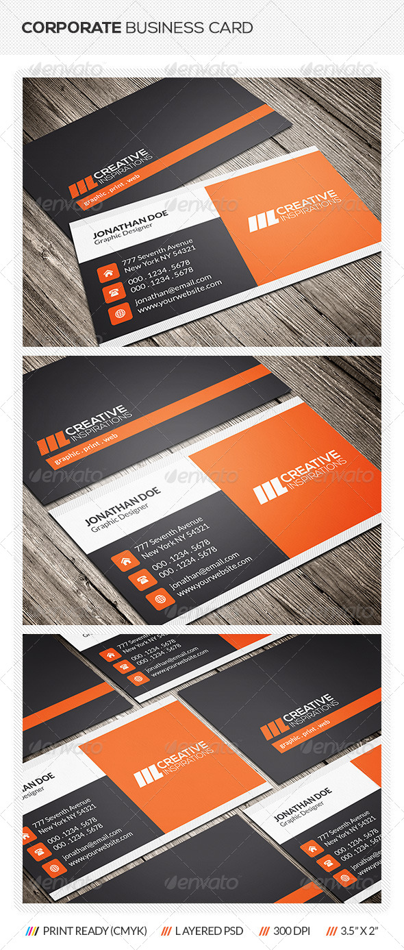 GraphicRiver Corporate Business Card 6543467