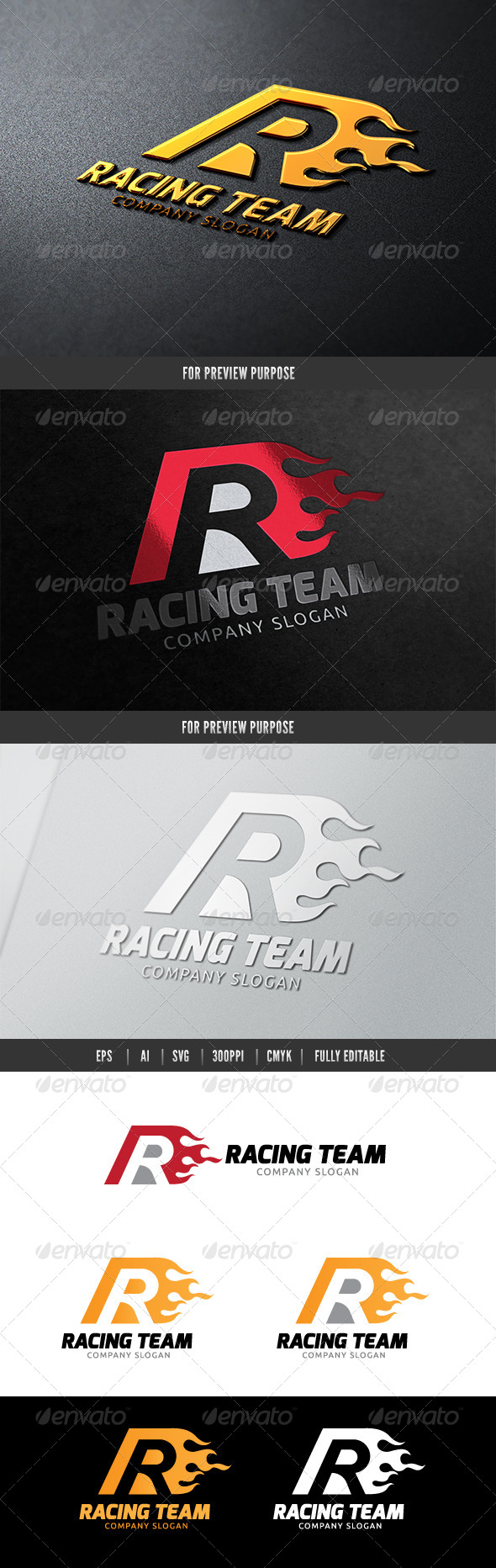 GraphicRiver Racing Team 6544002