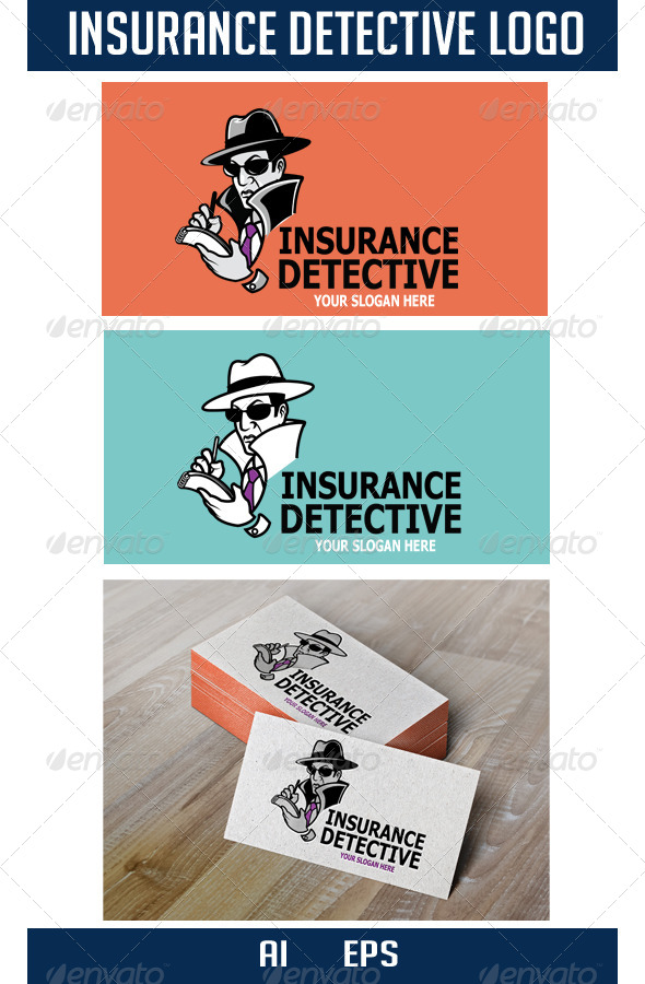 GraphicRiver Insurance Detective Logo 6525307