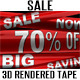 Shop Sale Plastic Tape 3D Renders - GraphicRiver Item for Sale