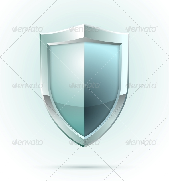 GraphicRiver Blank Shield Security Icon 6545241