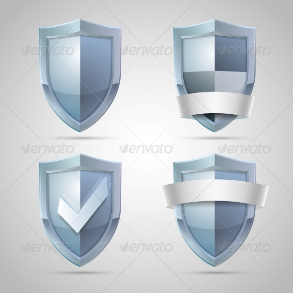 GraphicRiver Set of Shield Icons 6545249
