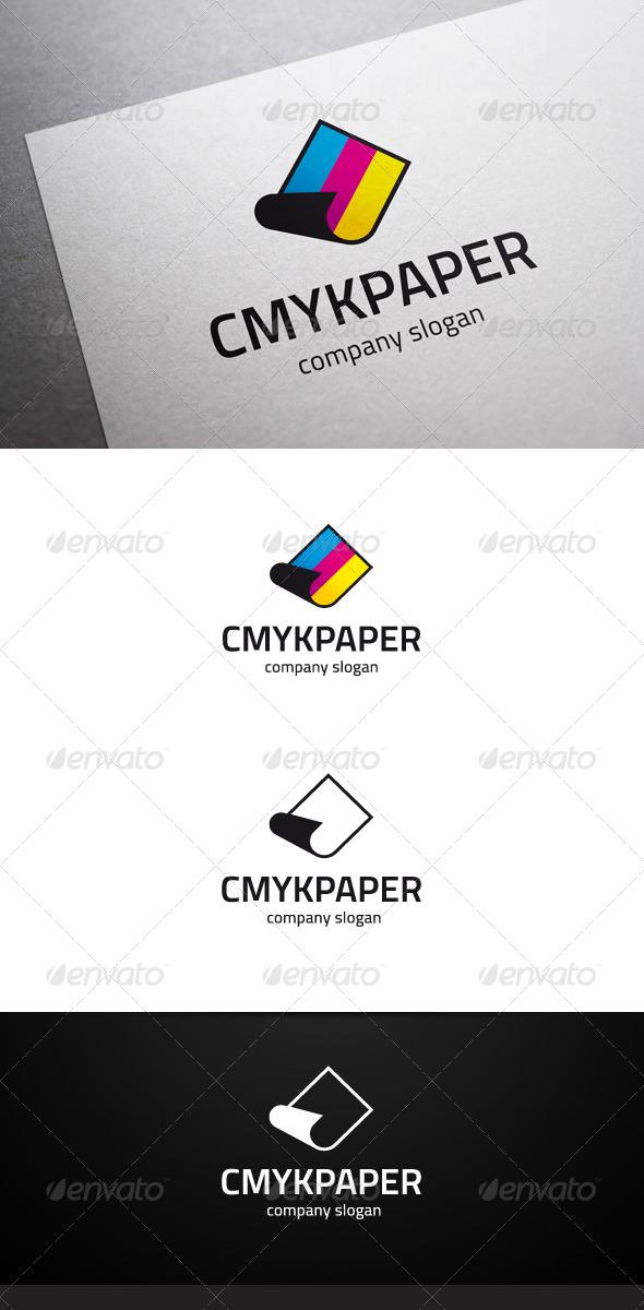 GraphicRiver CMYK Paper Logo 6545527
