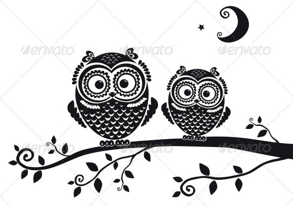 GraphicRiver Owls 6546481
