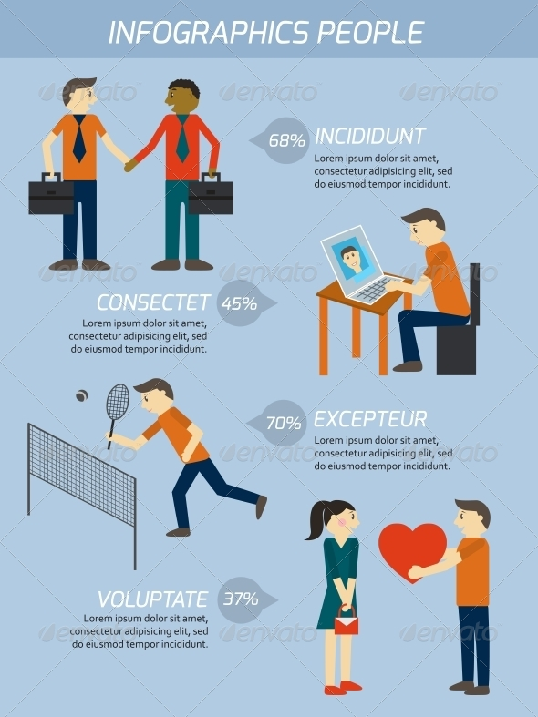 GraphicRiver People Relations Infographics Elements 6547302