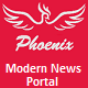 Phoenix, modern news portal - CodeCanyon Item for Sale