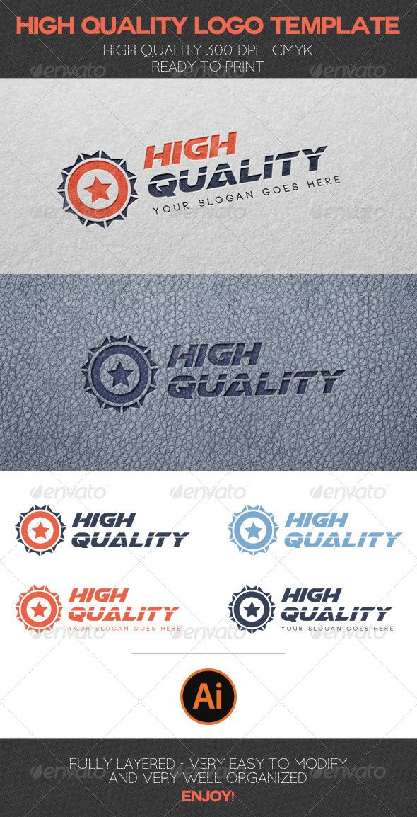 GraphicRiver High Quality Logo Template 6523384