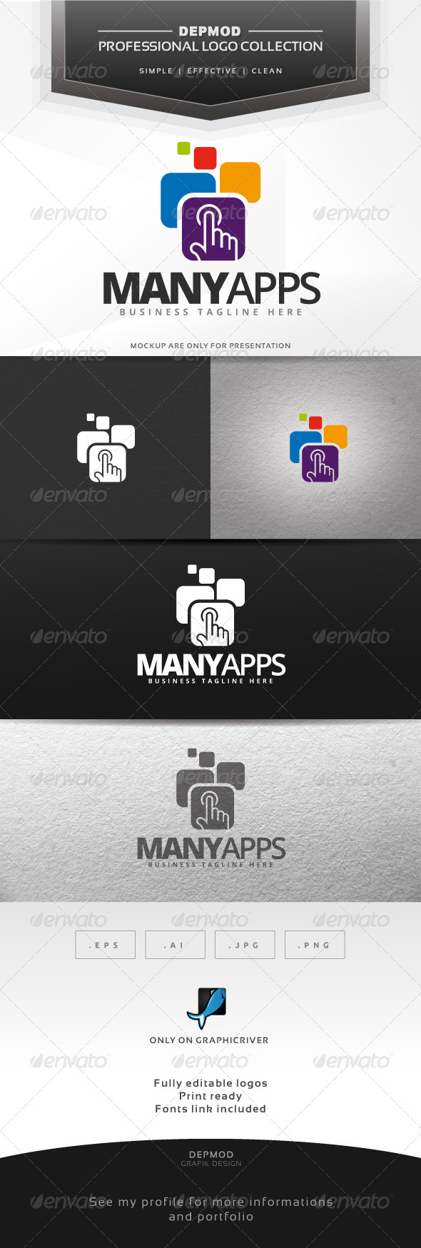 GraphicRiver Many Apps Logo 6552380