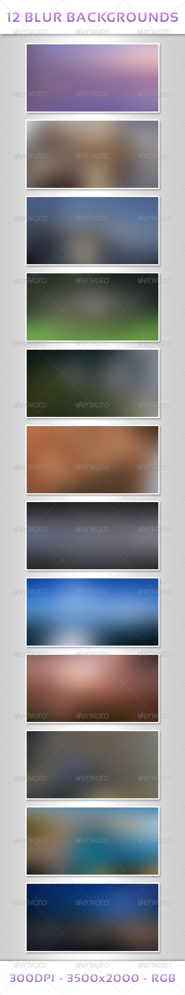 GraphicRiver 12 Blur Backgrounds 6552416