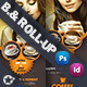 Coffee Billboard Roll-Up Template - GraphicRiver Item for Sale