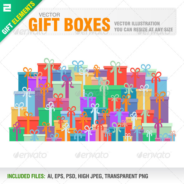 GraphicRiver Gift Boxes 6552680