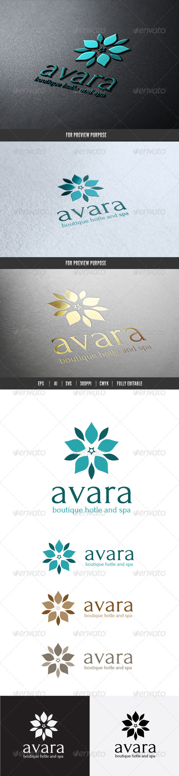 GraphicRiver Boutique Hotel Logo 6553235