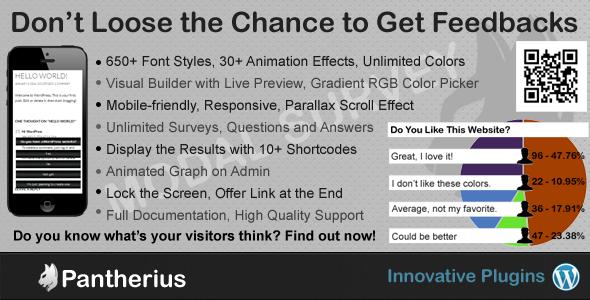 Modal Survey - WordPress Feedbacks & Polls Plugin