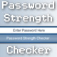 Password Strength Checker - ActiveDen Item for Sale