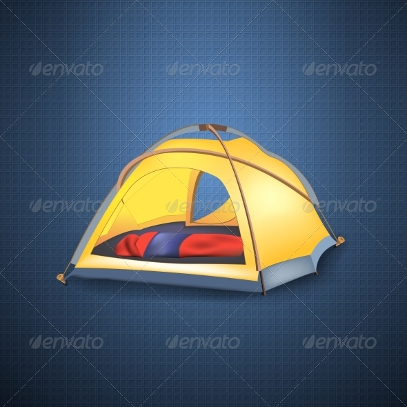 GraphicRiver Tourist Tent 6555994