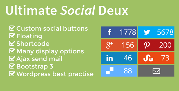 CodeCanyon Ultimate Social Deux 6556073