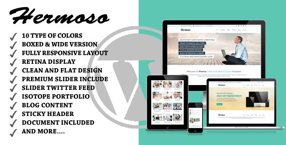 Hermoso - Multi Purpose WordPress Theme - Corporate WordPress